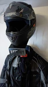 Picture of Motorcycle Helmet, Jacket, Gloves Wall Mount